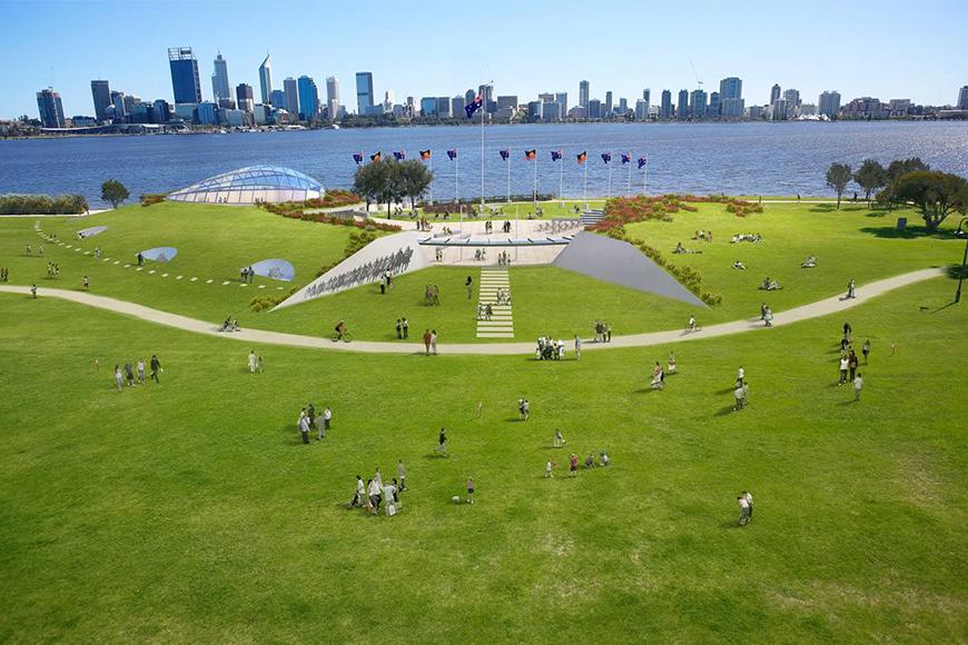 Westralian Centre concept, artist impression