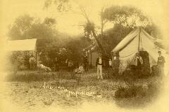 Mill Point camp 1895