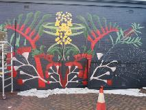 Second mural Connect South Garden Suburb