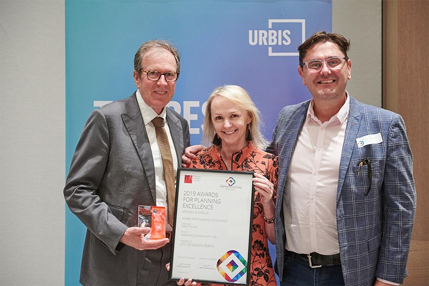 PIA awards 2019 Geoff and Vicki