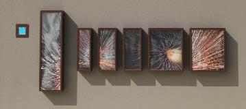 Manning exhibition Exploding Stars