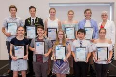 Volunteer of the Year Awards 2017 group