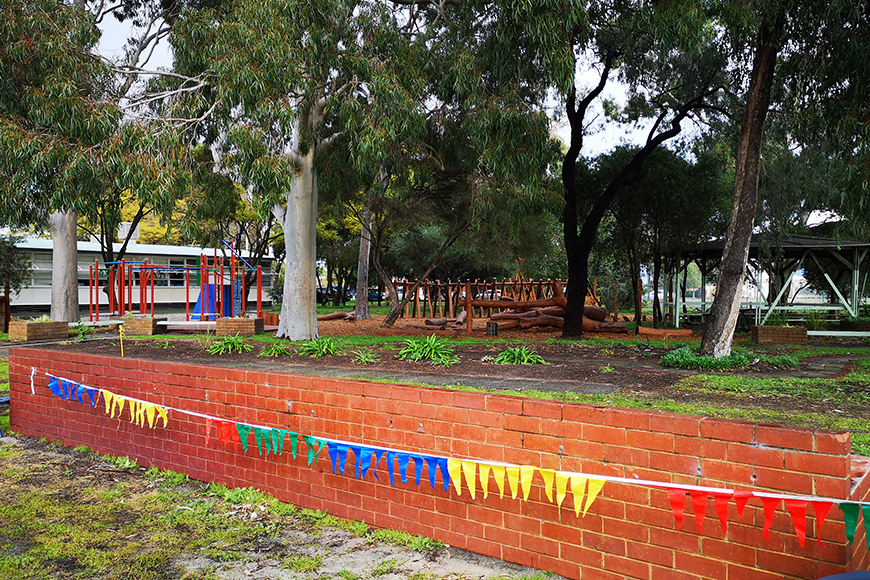 Noongar garden location Curtin PS