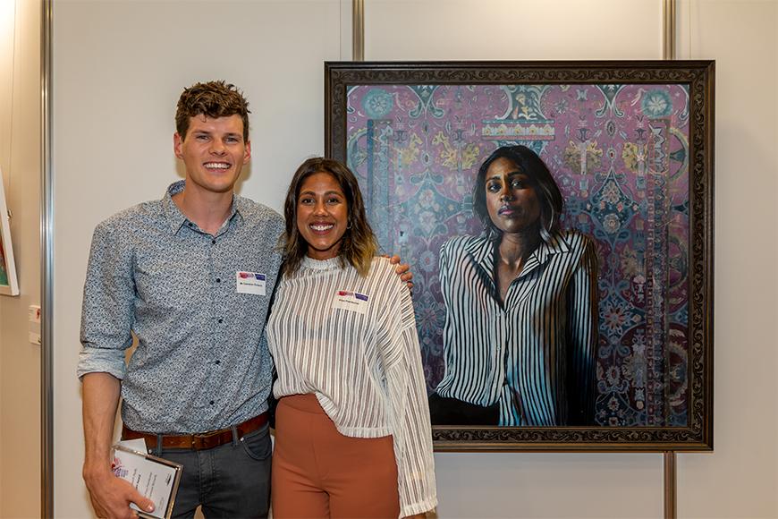 People'sChoice winner 2019 Emerging Artist Award