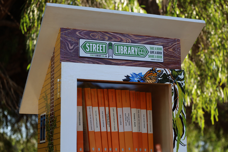 Street Library Old Mill3