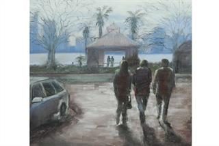 Michelle de Bruin - Winters Day - Entry into 2012 Emerging Artist Award