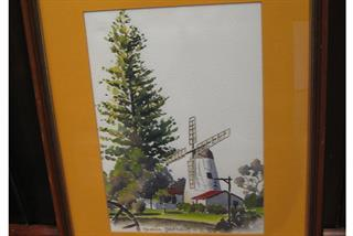 Neville Peterkin - The Old Mill-Perth WA - Historical Collection
