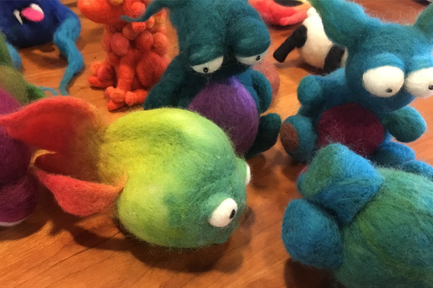 Felting-animals