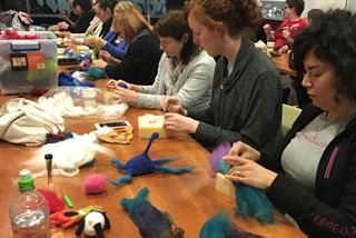 Felting-workshop-participants