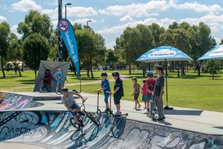 Manning Skate Park at George Burnett Park
