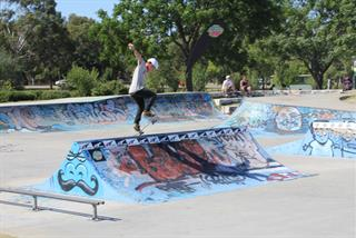 Manning Skate Park at George Burnett Park 3