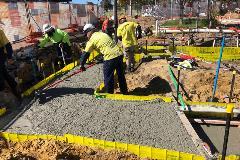 Concrete footings3